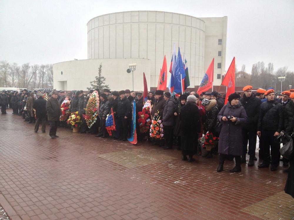 14 февраля 2013 года  мероприятия просвещенные Дню памяти о Россиянах погибших при исполнении служебного долга за пределами Отечества