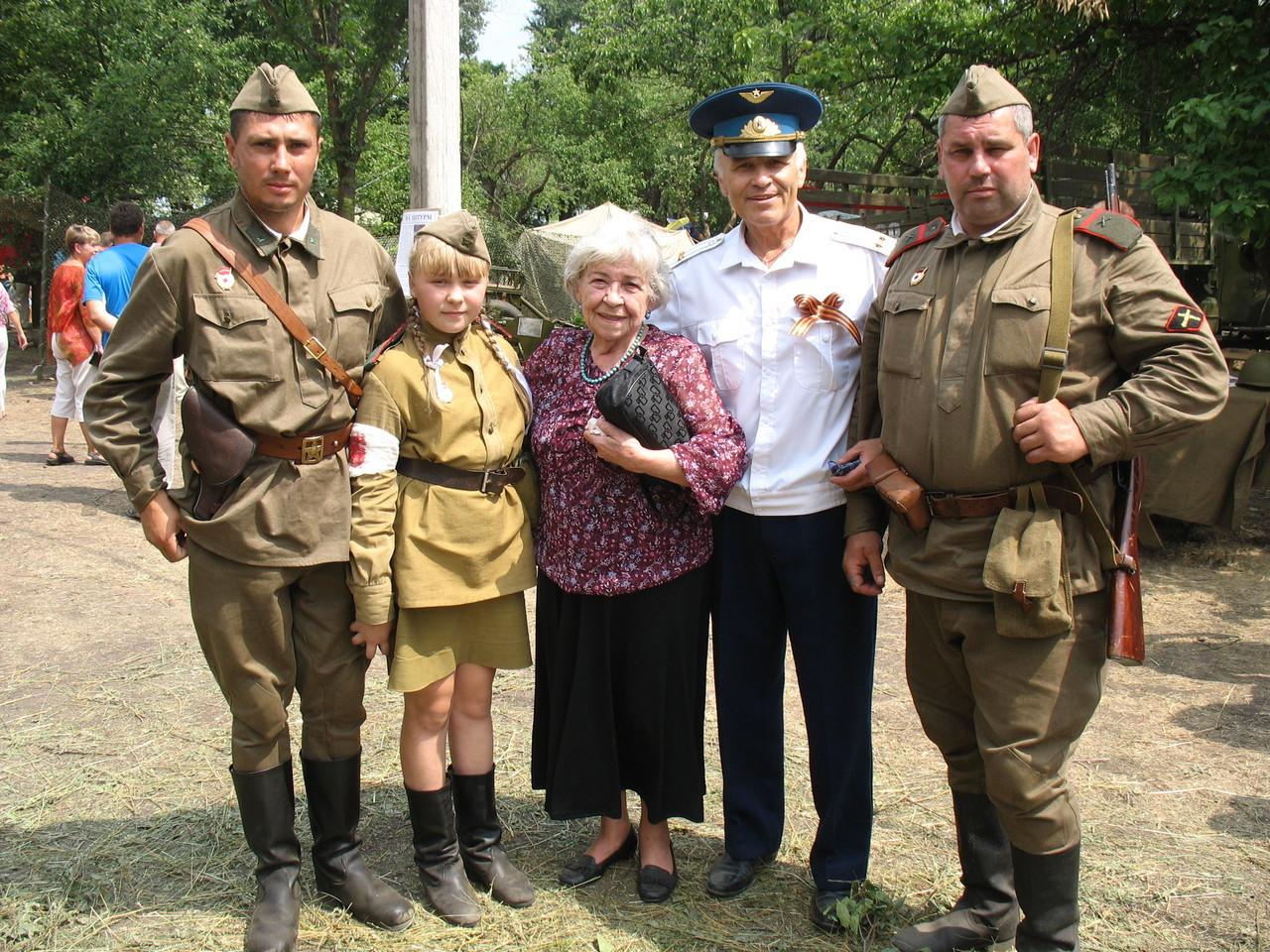 Празднование 70 –летия Победы в танковом сражении на Прохоровском поле