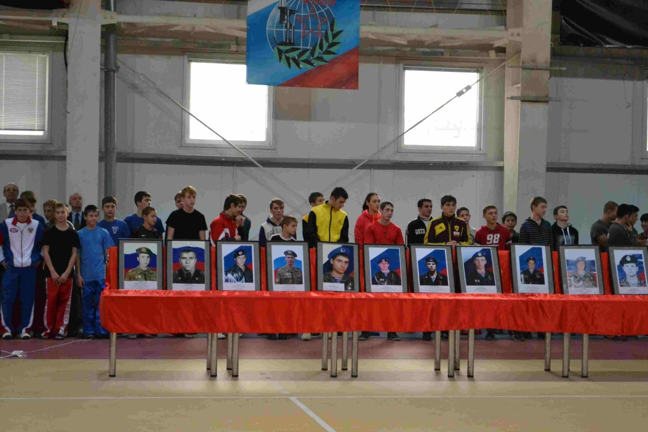 Турнир по кикбоксингу памяти Белгородских спортсменов погибших при исполнении служебного долга.