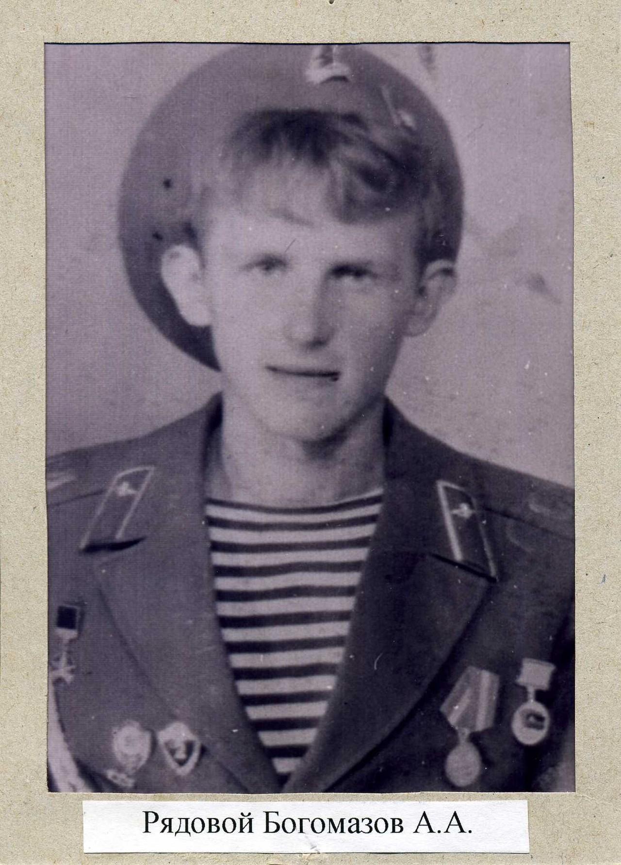 Богомазов Андрей Анатольевич