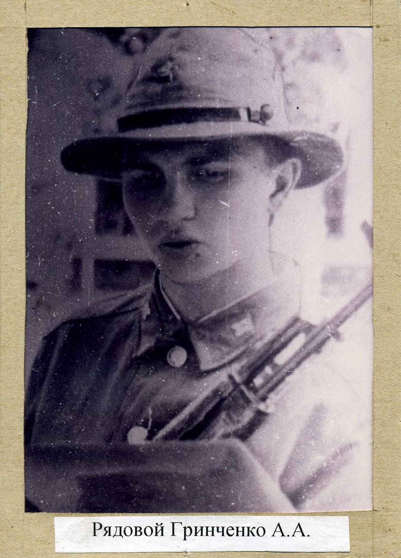 Гринченко Александр Александрович