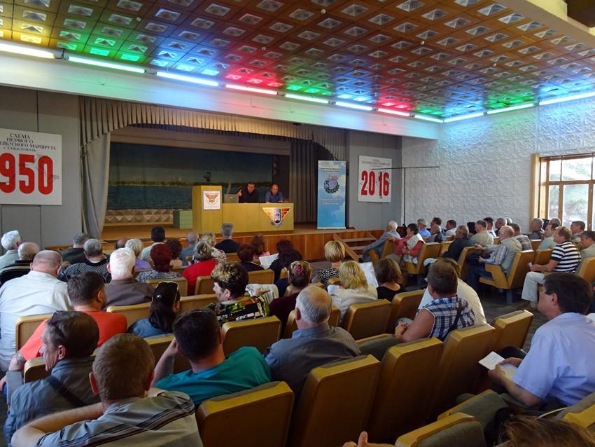 Правовой семинар для ветеранов Точки опоры в г. Севастополе 26.05.2016 г.