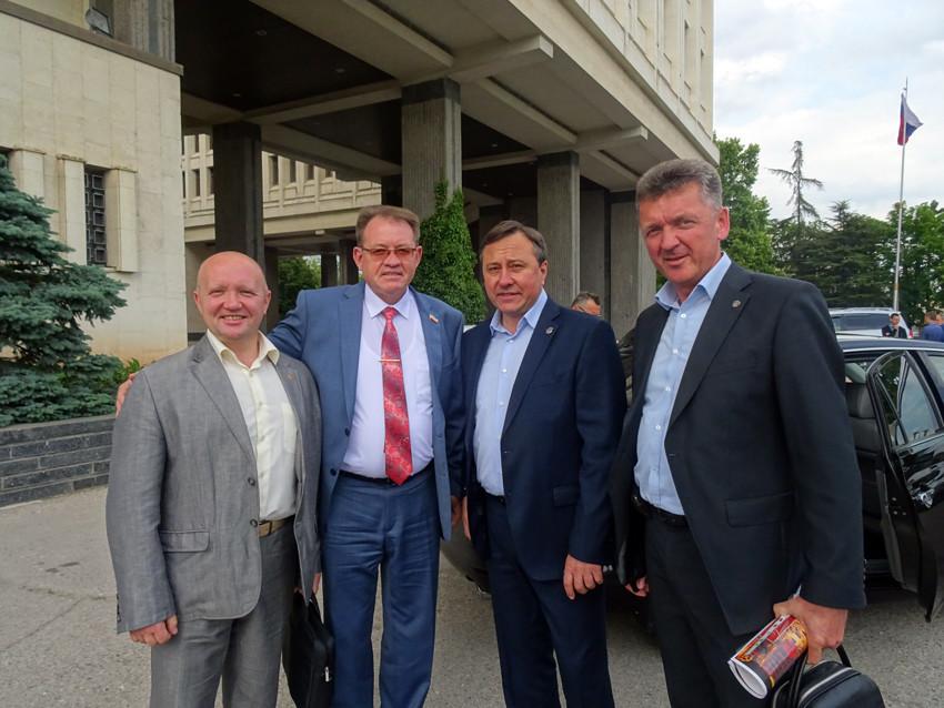Встреча с депутатами Гос. собрания Крыма 25.05.16 г.
