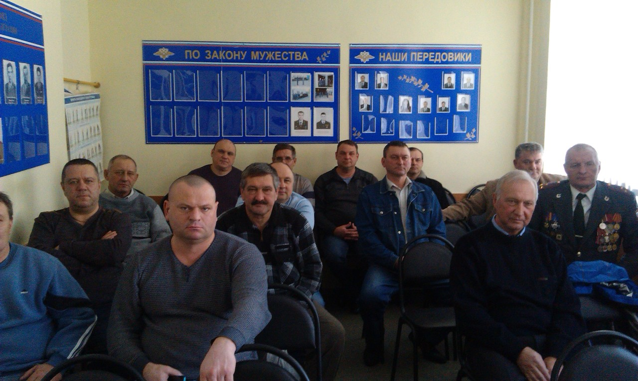 Правовым центром «Точка Опоры» проведен правовой семинар с ветеранами боевых действий в Корочанском районе
