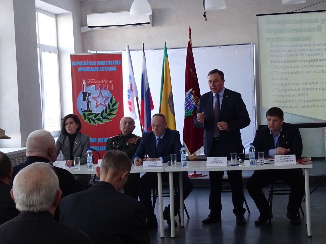 Боевое Братство собрало представителей всех ветеранских организаций Пензенской области, для информирования граждан.