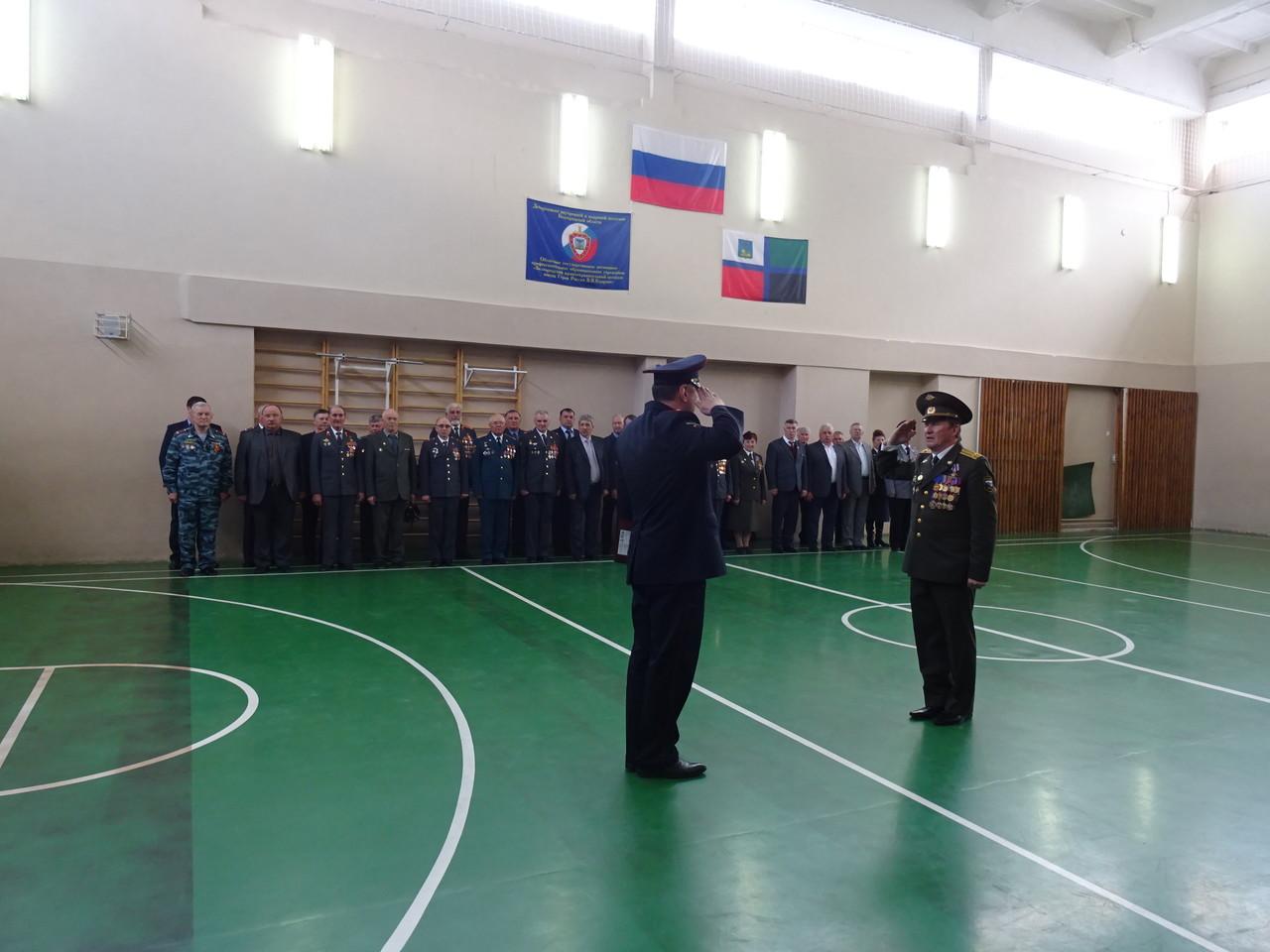 Праздничное мероприятие, посвященное Дню ветеранов органов внутренних дел Российской Федерации