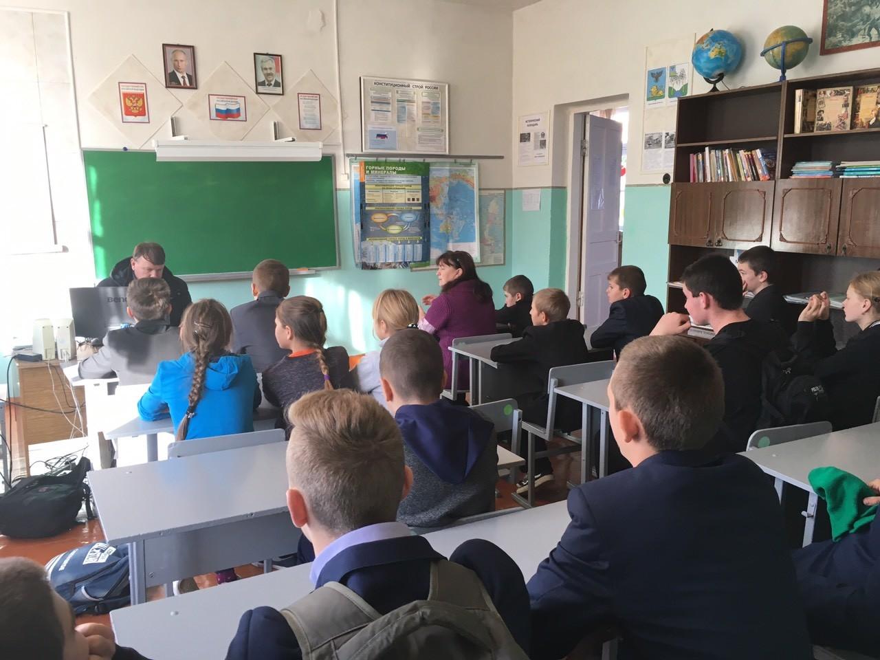 «Точка опоры» провела встречу со школьниками