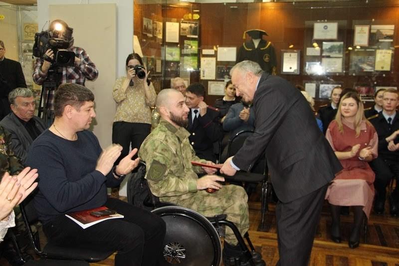В Белгородском государственном историко-краеведческом музее состоялась музейная гостиная «Летопись подвига»