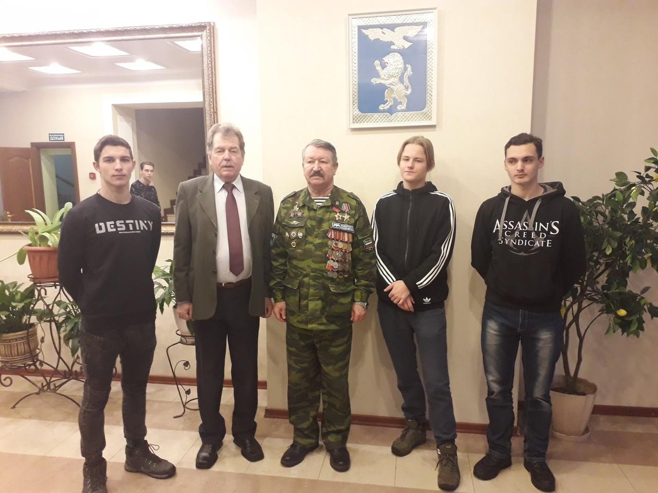 В Доме офицеров г. Белгорода состоялось городское мероприятие