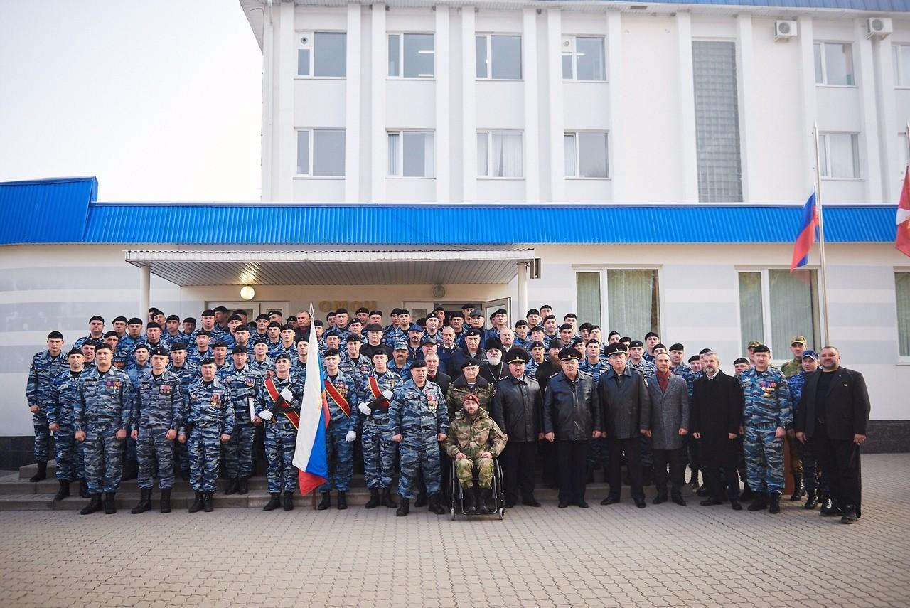 25- летие Белгородского ОМОНа.
