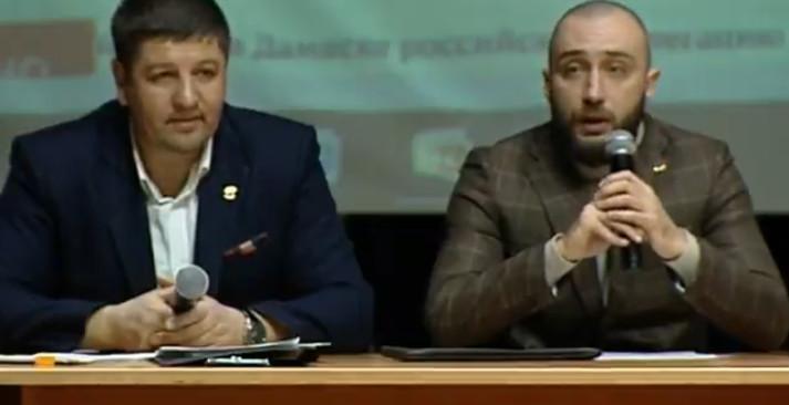 Встреча с ветеранами боевых действий города Белгорода.