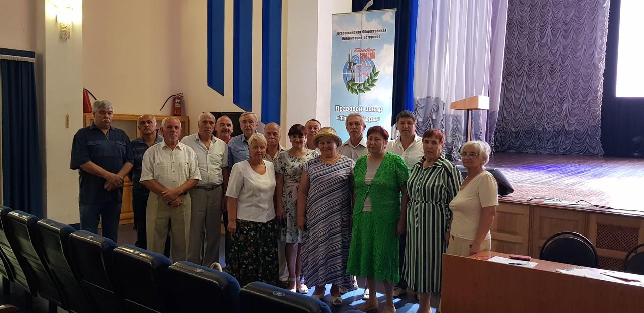 Правовой семинар в г. Строитель Яковлевского района