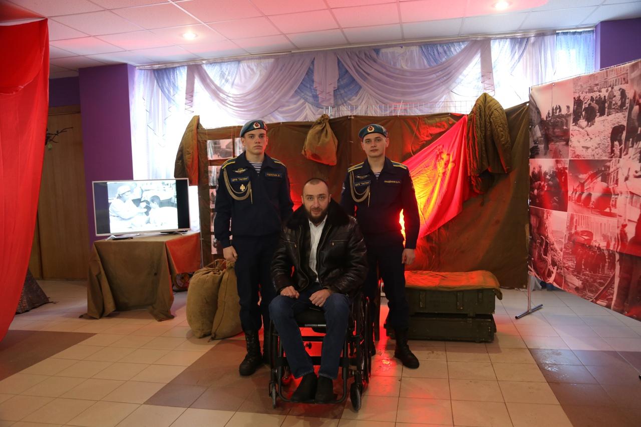 Курсанты «СЕВЕР» приняли участие в праздничной программе посвященной выводу Советских войск из Афганистана и Дню защитника Отечества