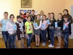 4 марта 2014 года воспитанницы Прохоровского детского дома с эстетическим воспитанием встретились со специалистами Белгородского правового центра