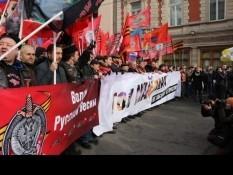 Белгородское отделение Всероссийской организации «БОЕВОЕ БРАТСТВО» приняло участие в шествии «Антимайдан» под лозунгами «Не забудем», «Не простим»