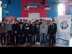 «Точка опоры» встретилась с воспитанниками военно-патриотических клубов
