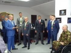 Герой России Вячеслав Воробьев принял участие в церемонии награждения Олимпийцев из Белгорода