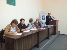 «Точка опоры» встретилась с ветеранами Губкинского городского округа.