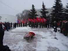 В Белгороде вспомнили погибших в Афганской войне и других локальных войнах.