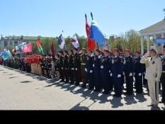 В Белгороде прошел областной парад кадетских классов