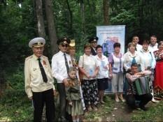 «Точка опоры» встретилась с ветеранами Белгородского района Белгородской области