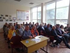 «Точка опоры» встретилась с ветеранами в г. Курске