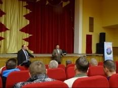 Правовой центр «Точка Опоры» провел правовой семинар с ветеранами боевых действий п. Майский Белгородского района Белгородской области