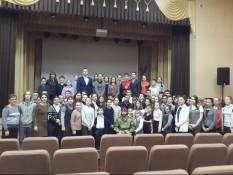 Встреча старшеклассников МОУ