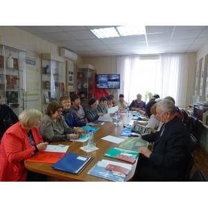 Точка опоры приняла участие в совещании руководителей ветеранских организаций региона.