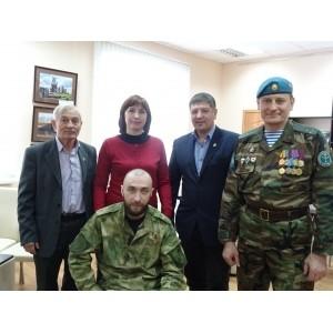 Открытие  фотовыставки «Донбасс- наша боль»