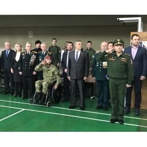 Соревнования среди кадетских классов на призы Белгородского фонда поддержки армии, авиации и флота - «Отечество».