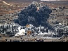 Осуждаем военную агрессию США и их союзников, против Сирии.