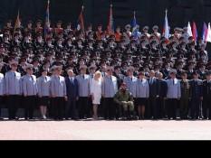 Открытие военно-спортивного сбора