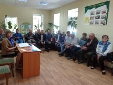 «Точка опоры» встретилась с ветеранами в г. Алексеевка Белгородской области