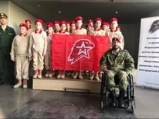 Торжественная церемония посвящения школьников в ряды молодежного патриотического движения