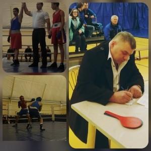 Личное первенство по боксу среди юниоров памяти Гулика Игоря Михайловича