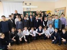 Урок мужества в 35 школе г. Белгорода