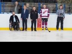 Вячеслав Воробьев стал почетным гостем на хоккейном турнире