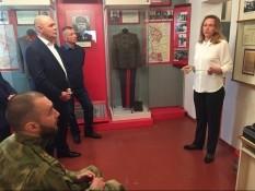 Посетили Дом-музей генерала армии Н.Ф. Ватутина