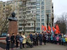 Митинг, приуроченный к 75-летию со дня смерти Н.Ф. Ватутина