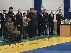 Турнир по дзюдо памяти капитана милиции Александра Колесникова.