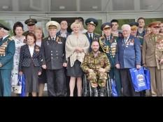 Накануне Дня Победы во Дворце культуры «Энергомаш» прошла традиционная «Встреча трёх поколений»