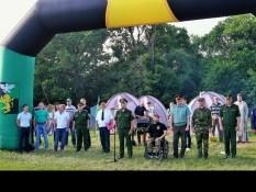 Открытие  военно-спортивной игры