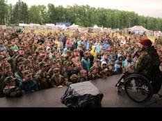 Встреча руководителя Белгородского отделения ВООВ «БОЕВОЕ БРАТСТВО» с отдыхающими военно-патриотического лагеря «Бородино»