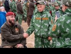 Вячеслав Воробьев встретился с отдыхающими 2-ой смены военно- патриотического лагеря