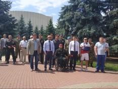 Члены Белгородского отделения ВООВ