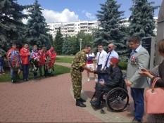 Ряды Белгородского отделения ВООВ