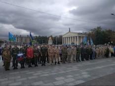 Празднование Дня воздушно-десантных войск.