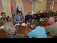 Врио главы республики Алтай встретился с ветеранами в рамках проекта «Точка опоры»