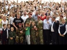 Открытие Центра спортивно-патриотического воспитания «Витязь»